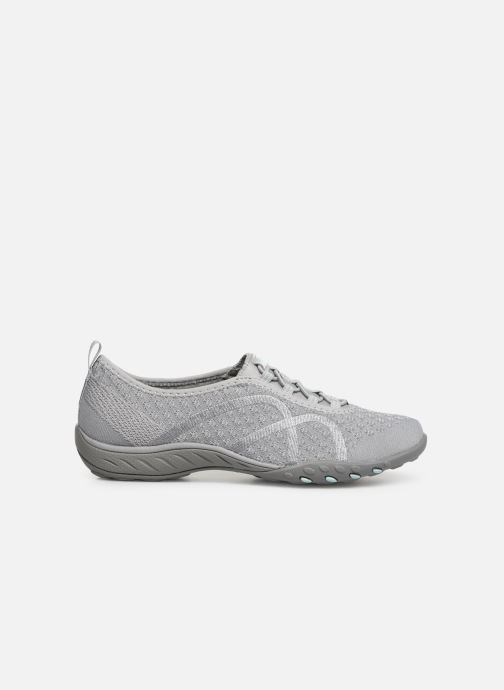 Baskets Skechers Breath-Easy Fortunekni Gris vue derrière