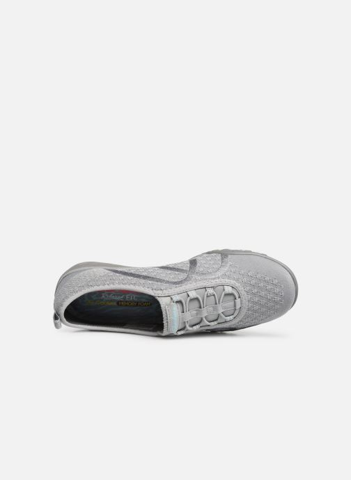Baskets Skechers Breath-Easy Fortunekni Gris vue gauche