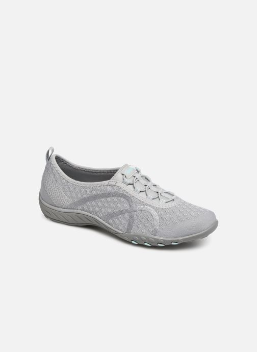 Baskets Skechers Breath-Easy Fortunekni Gris vue détail/paire