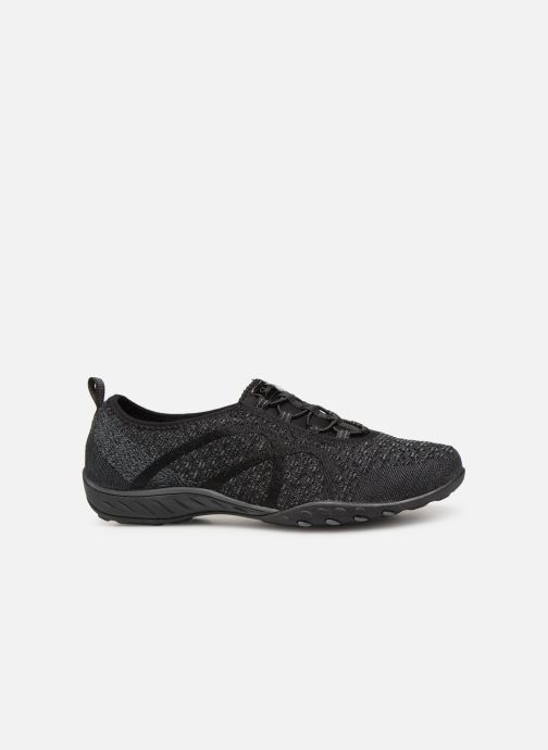 Trainers Skechers Breath-Easy Fortunekni Black back view
