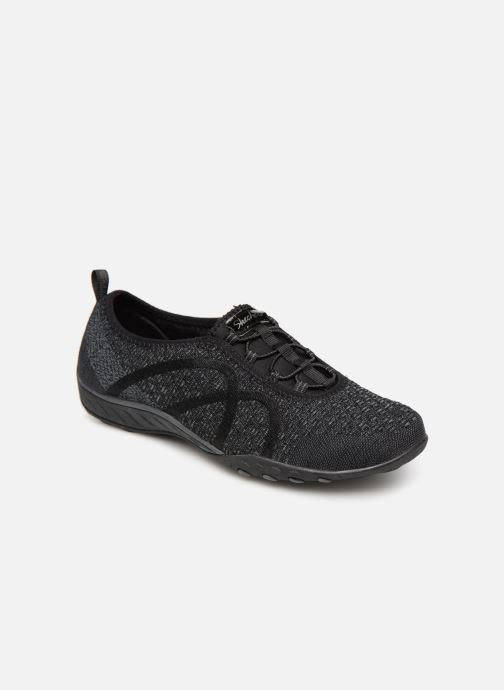 Trainers Skechers Breath-Easy Fortunekni Black detailed view/ Pair view