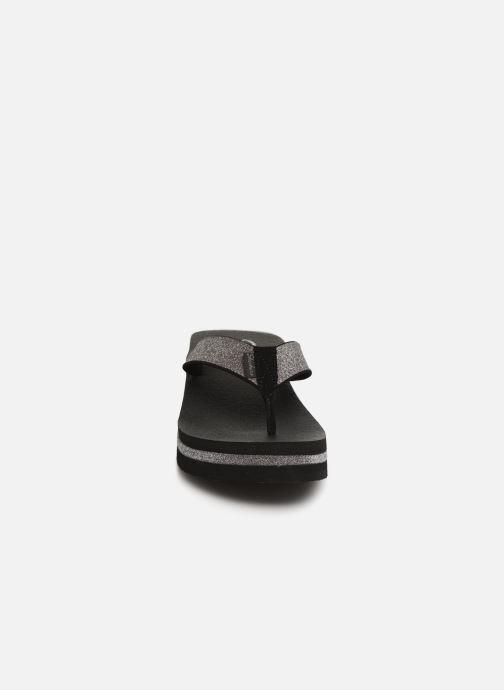 Tongs Skechers Vinyasa Unicorn Mist Noir vue portées chaussures