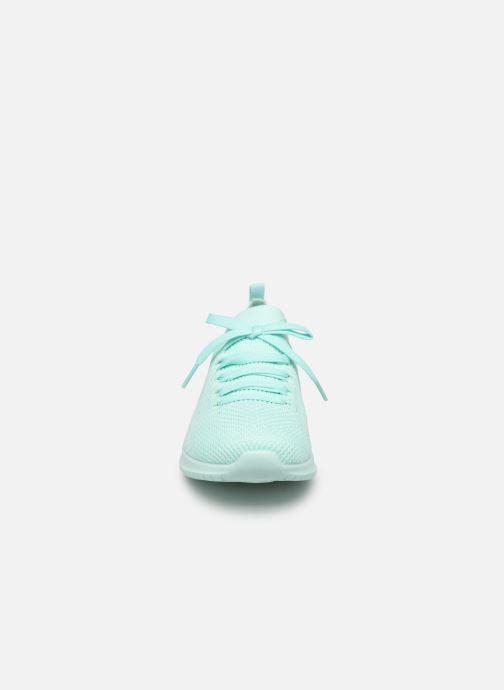 Sneaker Skechers Ultra Flex Fresh Pick blau schuhe getragen