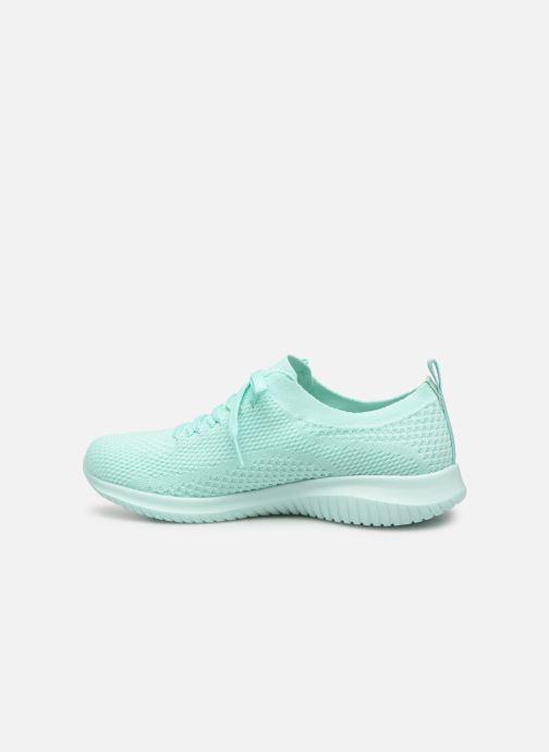 Sneaker Skechers Ultra Flex Fresh Pick blau ansicht von vorne