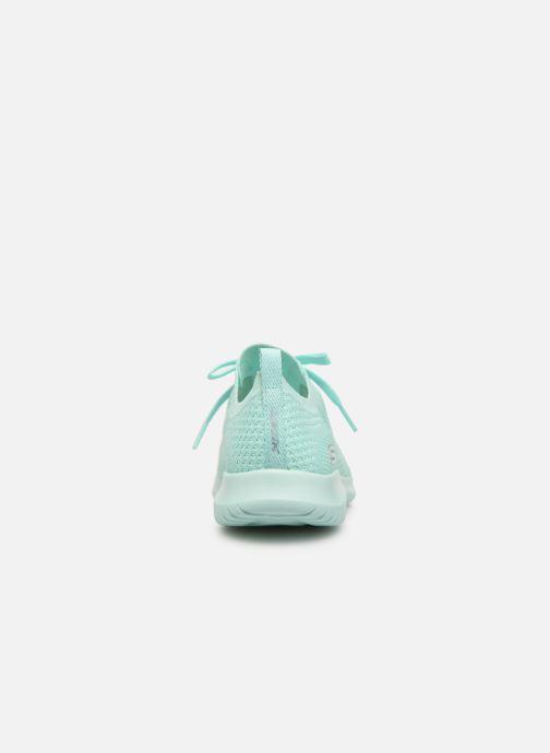 Sneaker Skechers Ultra Flex Fresh Pick blau ansicht von rechts
