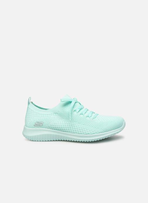 Sneaker Skechers Ultra Flex Fresh Pick blau ansicht von hinten