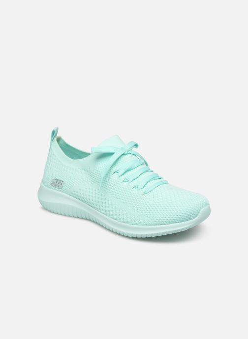 Sneakers Skechers Ultra Flex Fresh Pick Blå detaljerad bild på paret