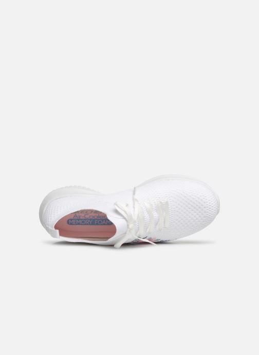 Sneakers Skechers Ultra Flex Fresh Pick Vit bild från vänster sidan
