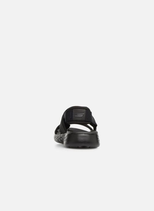 Sandales et nu-pieds Skechers On The Go 600 Foxy Noir vue droite
