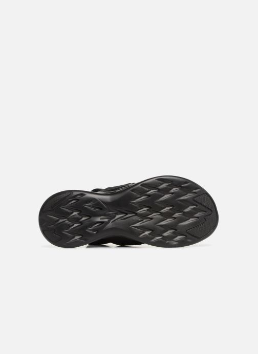 Sandalias Skechers On The Go 600 Foxy Negro vista de arriba