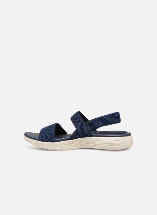 Sandaler Skechers On The Go 600 Flawless Blå bild från framsidan