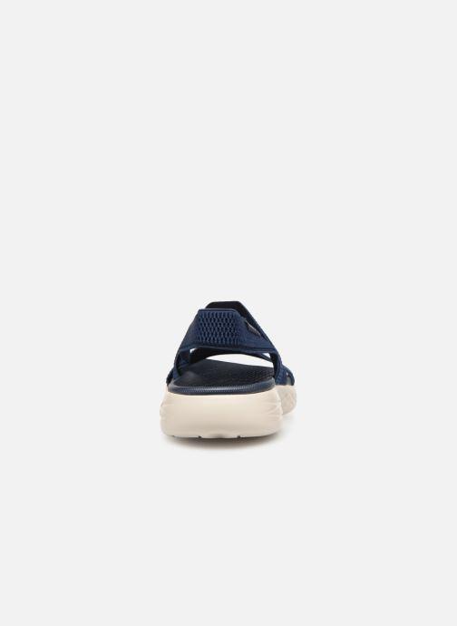 Sandales et nu-pieds Skechers On The Go 600 Flawless Bleu vue droite