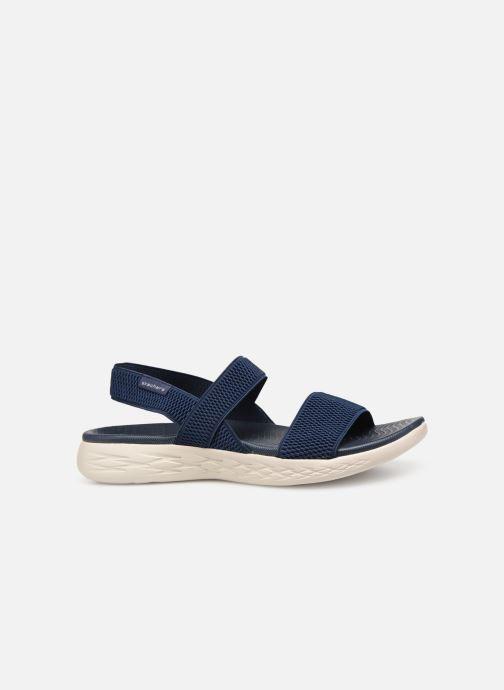 Sandales et nu-pieds Skechers On The Go 600 Flawless Bleu vue derrière