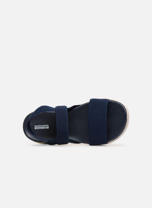 Sandales et nu-pieds Skechers On The Go 600 Flawless Bleu vue gauche