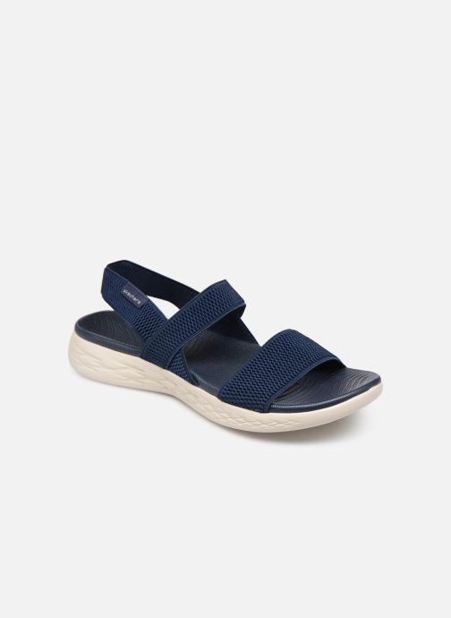 Sandalen Skechers On The Go 600 Flawless Blauw detail