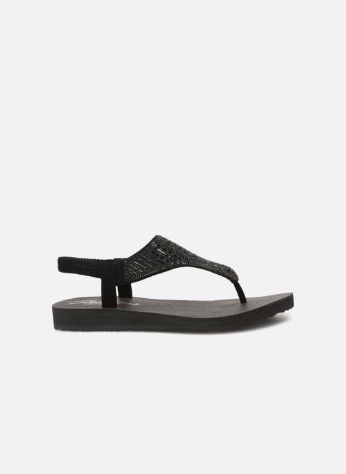 Sandales et nu-pieds Skechers Meditation Rock Crown Noir vue derrière