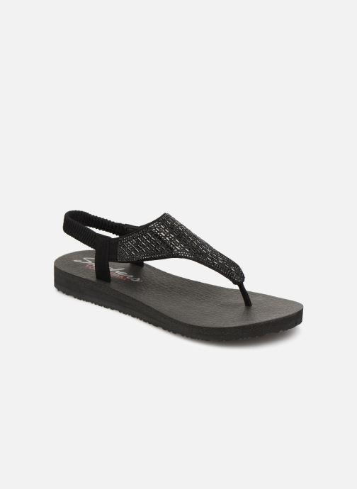 Sandales et nu-pieds Skechers Meditation Rock Crown Noir vue détail/paire