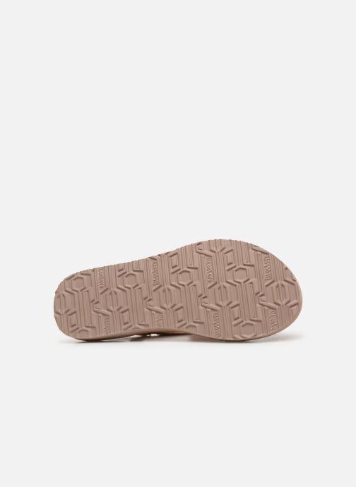 Sandalen Skechers Meditation Rock Crown rosa ansicht von oben