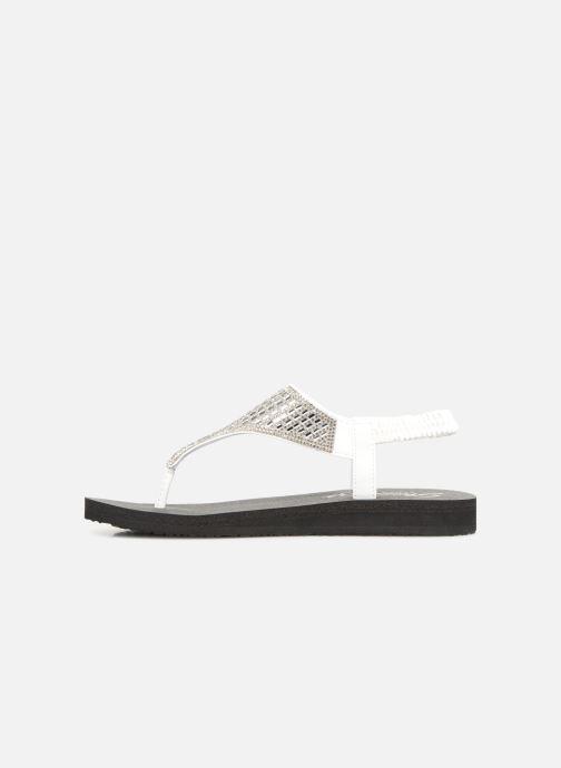 Sandalen Skechers Meditation Rock Crown Wit voorkant