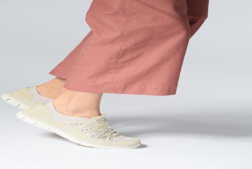 Sneaker Skechers Gratis Dreaminess beige ansicht von unten / tasche getragen