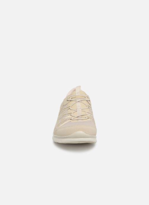 Sneaker Skechers Gratis Dreaminess beige schuhe getragen