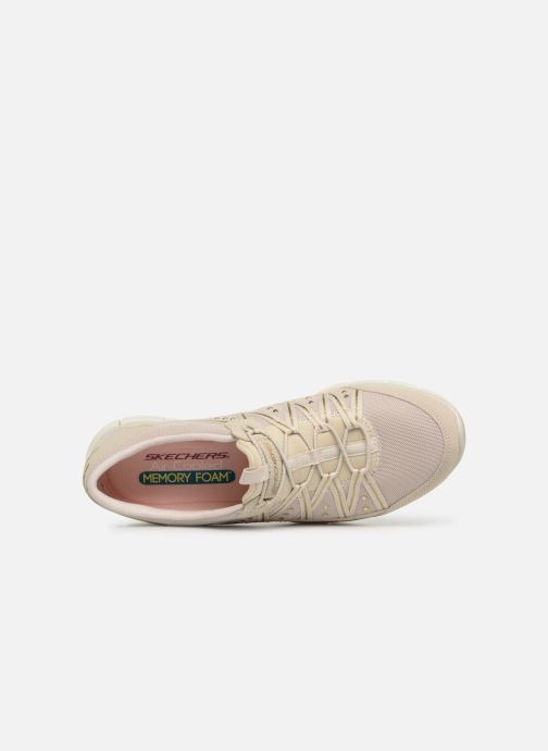 Sneaker Skechers Gratis Dreaminess beige ansicht von links