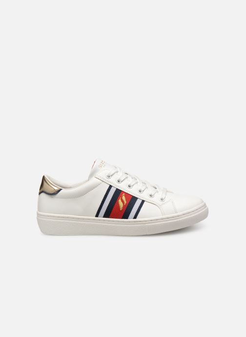 Trainers Skechers Goldie Collegiate Cruizers White back view