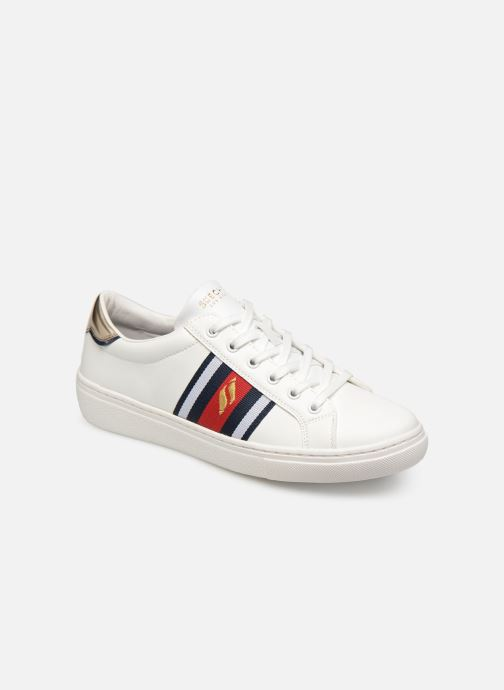 Trainers Skechers Goldie Collegiate Cruizers White detailed view/ Pair view