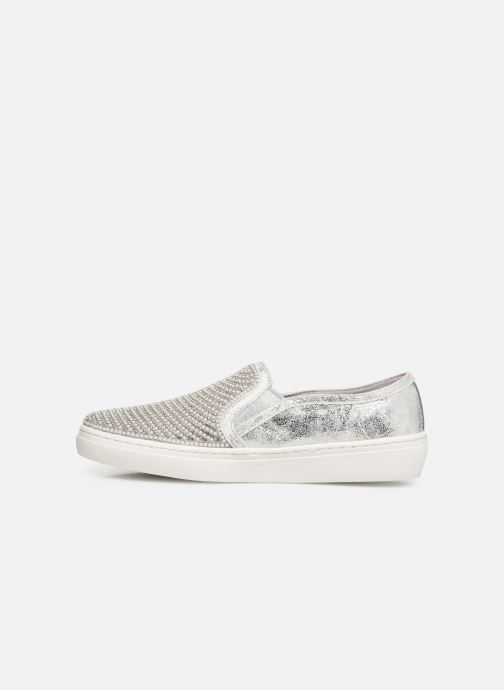 Baskets Skechers Goldie Argent vue face