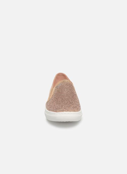 Sneaker Skechers Goldie gold/bronze schuhe getragen