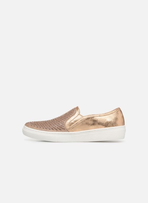 Trainers Skechers Goldie Bronze and Gold front view