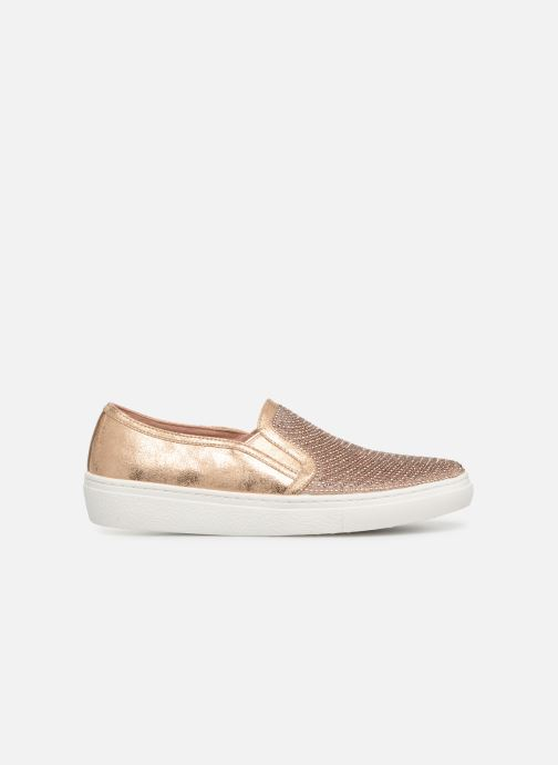 Trainers Skechers Goldie Bronze and Gold back view