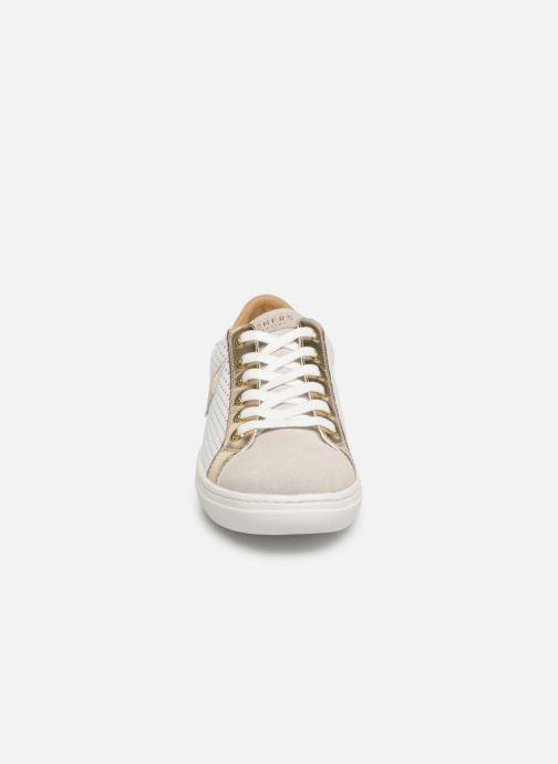 Sneaker Skechers Goldie weiß schuhe getragen