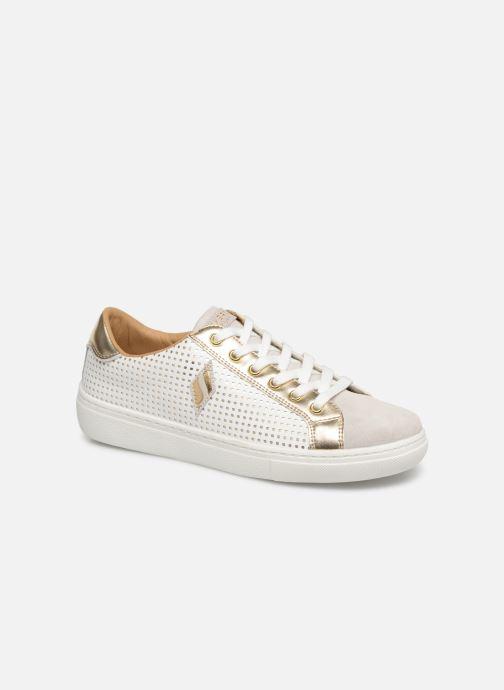 Sneakers Skechers Goldie Vit detaljerad bild på paret