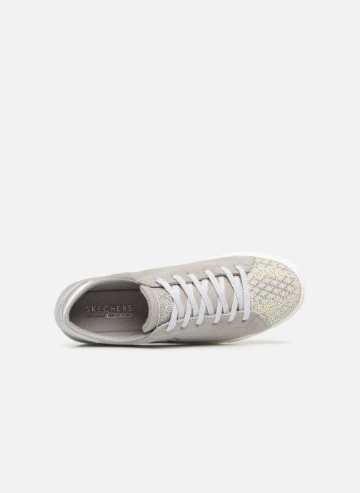 Sneaker Skechers Goldie grau ansicht von links