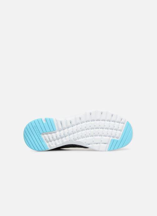 Sportschuhe Skechers Flex Appeal 3.0 Insiders grau ansicht von oben