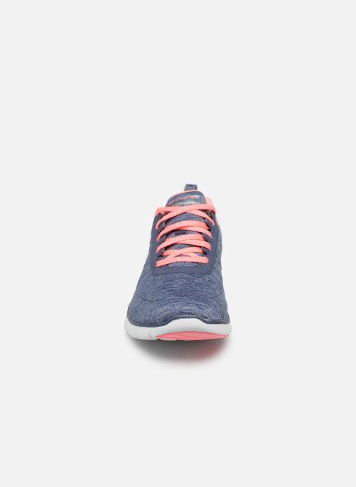 Zapatillas de deporte Skechers Flex Appeal 3.0 Insiders Azul vista del modelo