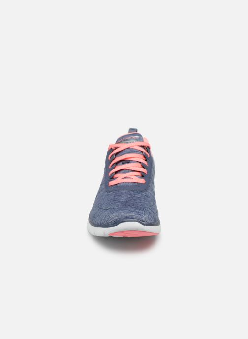 Sportskor Skechers Flex Appeal 3.0 Insiders Blå bild av skorna på