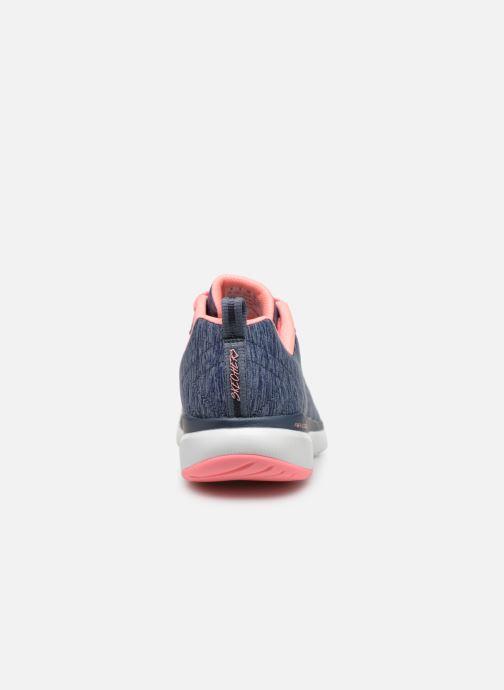 Sportssko Skechers Flex Appeal 3.0 Insiders Blå Se fra højre