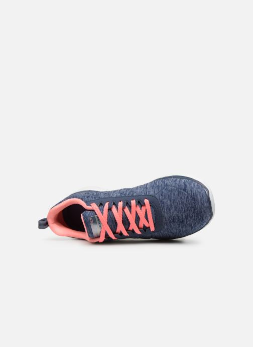 Zapatillas de deporte Skechers Flex Appeal 3.0 Insiders Azul vista lateral izquierda