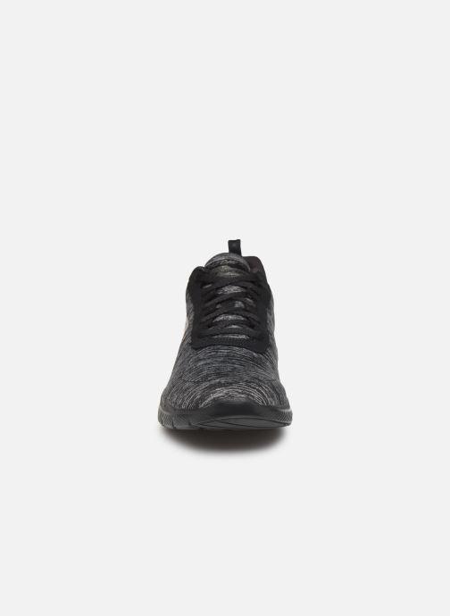 Chaussures de sport Skechers Flex Appeal 3.0 Insiders Noir vue portées chaussures