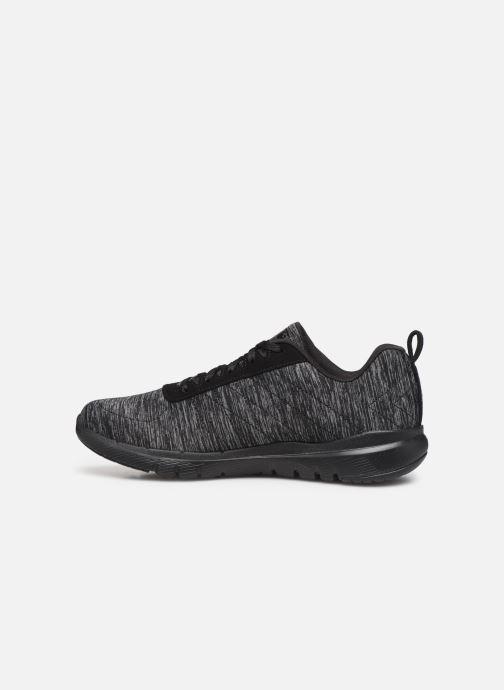 Chaussures de sport Skechers Flex Appeal 3.0 Insiders Noir vue face