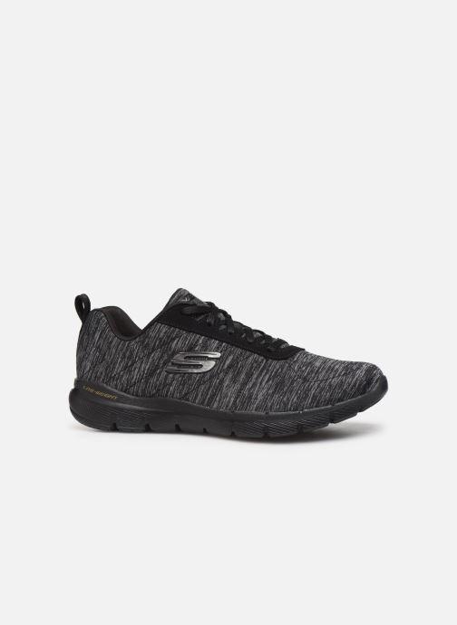 Chaussures de sport Skechers Flex Appeal 3.0 Insiders Noir vue derrière