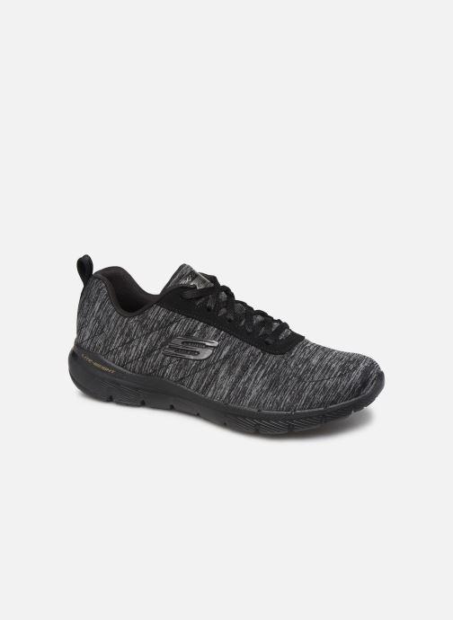 Chaussures de sport Skechers Flex Appeal 3.0 Insiders Noir vue détail/paire