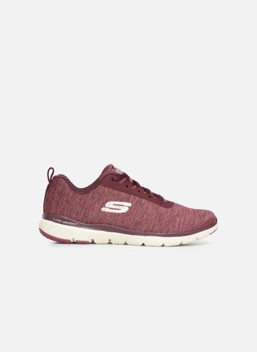 Chaussures de sport Skechers Flex Appeal 3.0 Insiders Bordeaux vue derrière