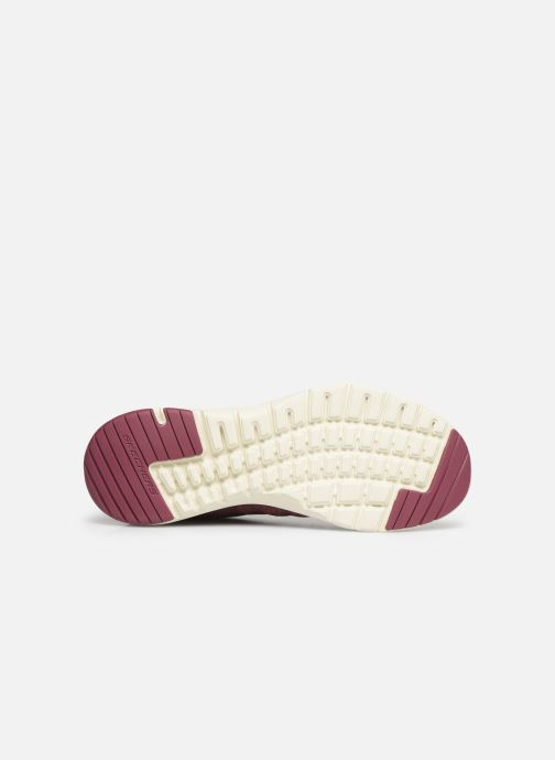 Chaussures de sport Skechers Flex Appeal 3.0 Insiders Bordeaux vue haut