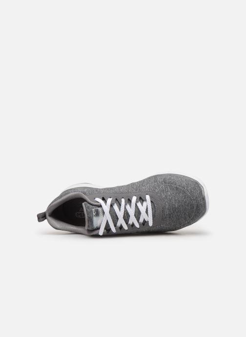 Chaussures de sport Skechers Flex Appeal 3.0 Insiders Gris vue gauche