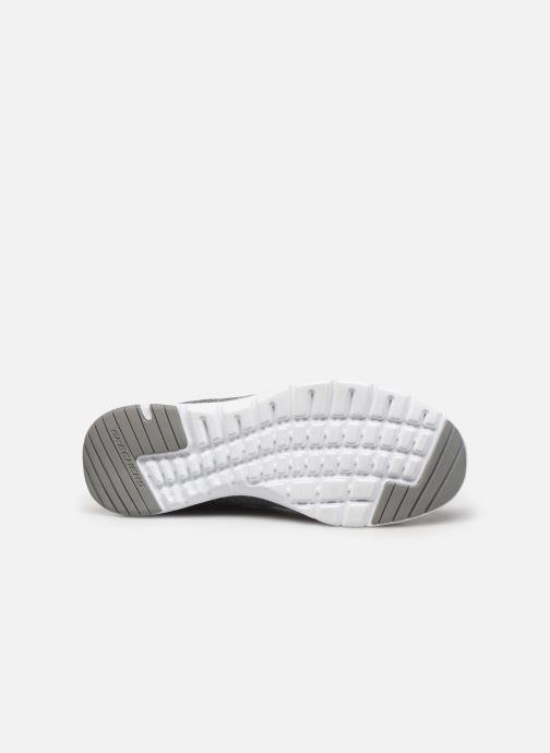 Chaussures de sport Skechers Flex Appeal 3.0 Insiders Gris vue haut