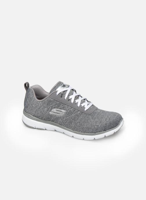 Chaussures de sport Skechers Flex Appeal 3.0 Insiders Gris vue détail/paire