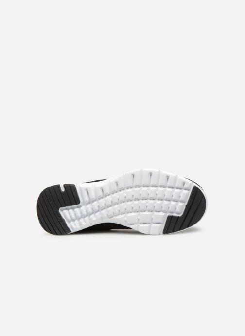 Zapatillas de deporte Skechers Flex Appeal 3.0 Flashy Nite Negro vista de arriba